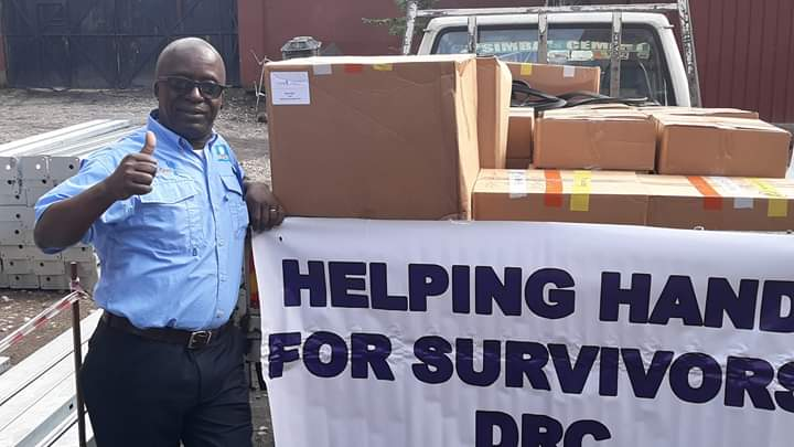 Dr Jean Claude of Helping Hand for Survivors'(HHS) traveled to the Democratic Republic of Congo on April 30th, 2019